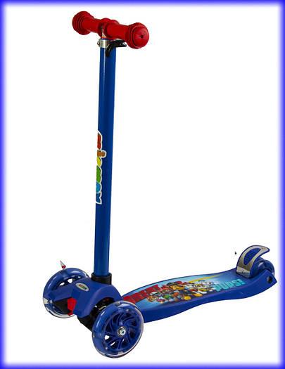 Самокат детский Best scooter MAXI Disney Щенячий патруль