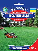 Газонна трава Мітлиця багаторічна паросткова утворює м'який бархатистий газон, упаковка 30 г