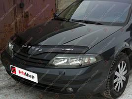 Дефлектор капота, мухобойка Renault Laguna с 2001 г.в. VIP