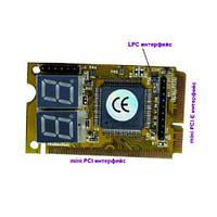 Mini PCI PCI-E LPC POST анализатор тестер ноутбука 10.00390