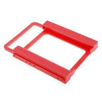 Переходник для SSD, НDD 2.5 на 3.5, пластик | код: 10.03492
