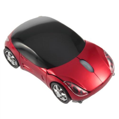 Беспроводная мышь Porsche, мышка машинка, красная 2000-01776