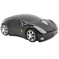 Беспроводная мышь Porsche, мышка машинка, черная 2000-01777