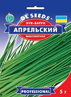Лук Батун Апрельский сорт урожайный многолетний зимостойкий на одном месте растет до 5 лет, упаковка 5 г