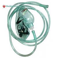 Кислородная маска для взрослых в комплекте с кислородной трубкой TW 8344