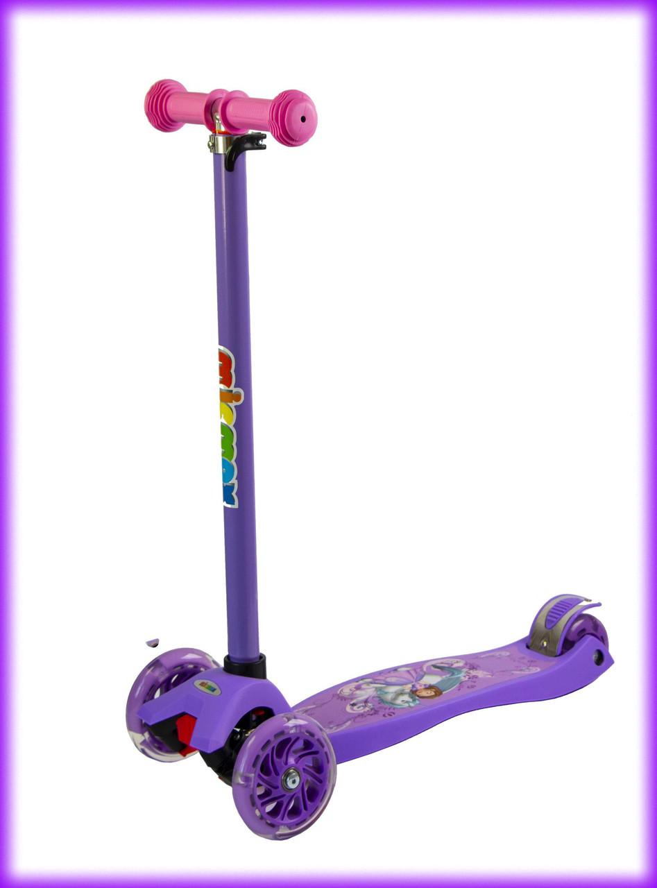 Самокат детский Best scooter MAXI Disney Unicorn Princess