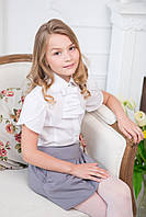 Блуза для школы стильная