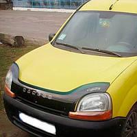 Дефлектор капота, мухобойка Renault Kangoo c 1997-2003 VIP