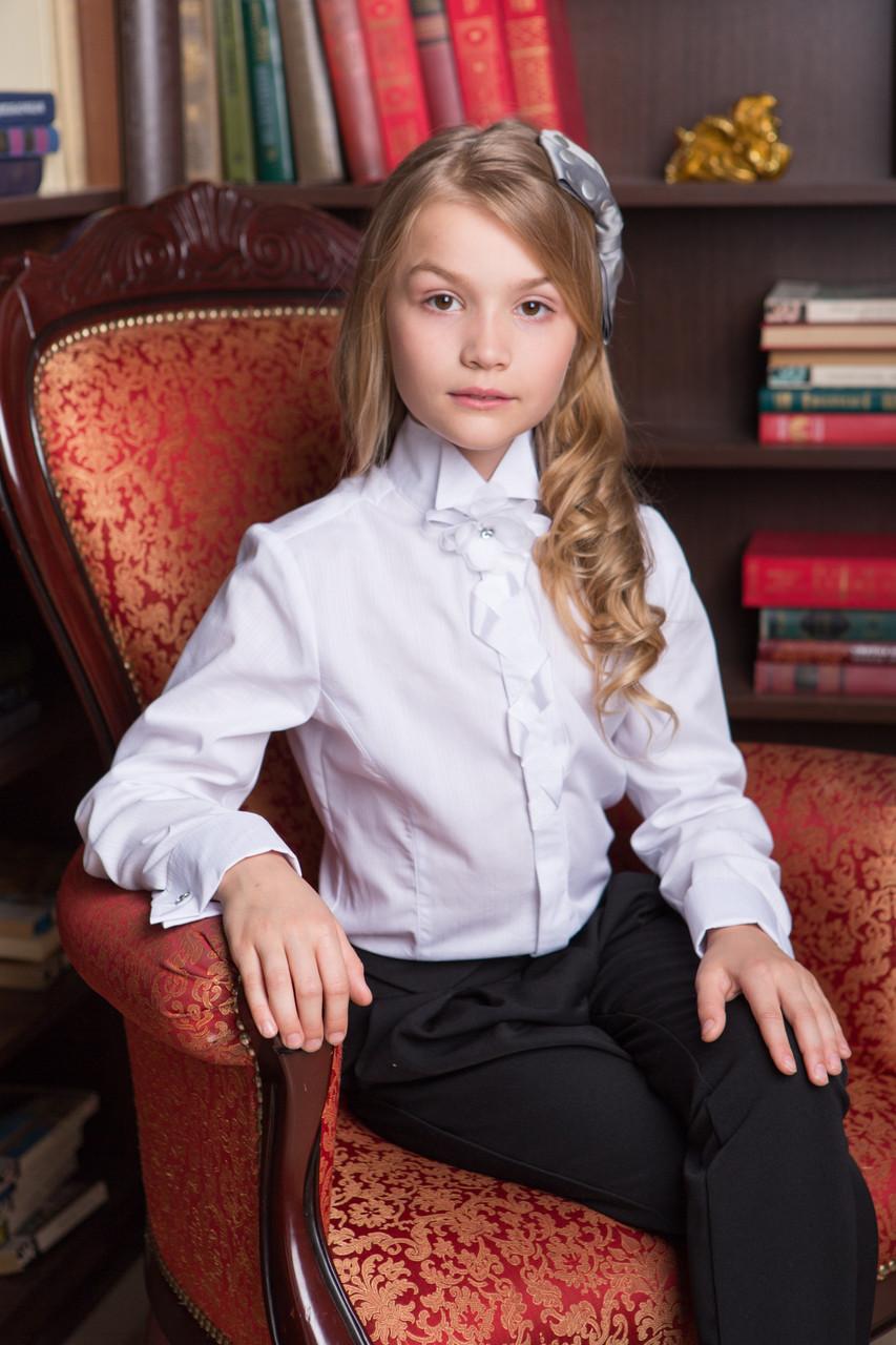 Школьная блуза строгая