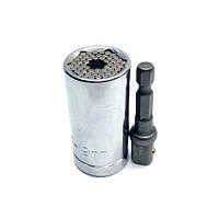 Универсальная насадка для торцевого ключа 7-19 мм | код: 10.03715