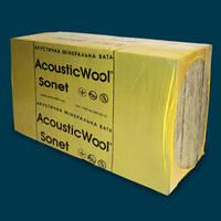 AcousticWool Sonet 1000х600х50 мм (6,0 м2/упак.) акустическая минеральная вата, фото 1