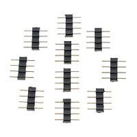 10x Коннектор для светодиодной RGB ленты 4pin 2000-02576