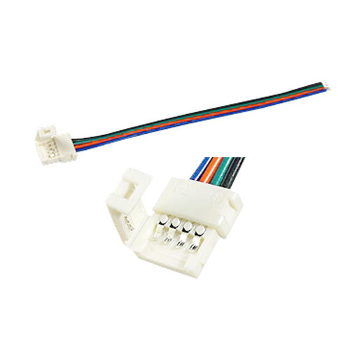 Коннектор выводной для 10мм LED ленты SMD 5050 RGB 2000-01650