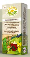 Биопрепарат Сияние для грунта и растений используется для устройства теплой грядки, упаковка 15 г