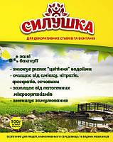 Биопрепарат Силушка для декоративных водоемов и фонтанов, упаковка 20 г на 60 м3 или на 200 м2