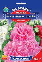 Мальва Чатерз Стрейн Букет махровая смесь с крупными цветками 8-12см, упаковка 0,3 г
