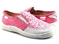 1fe5a0d9a Слипоны ортопедические детские Waldi Вика розовые, белый носок, р30-36