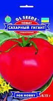 Томат Сахарный Гигант сорт крупноплодный сочный с арбузной текстурой среднеспелый, упаковка 0,15 г