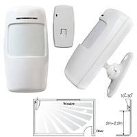 Беспроводной ИК датчик движения PIR 433МГц для GSM-сигнализации, тип B | код: 10.04532