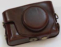 Кожаный чехол для фотоаппарата Pentax MX1 Brown