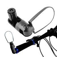 Велосипедное зеркало заднего вида в трубу руля, регулируемое 360 | код: 10.03063