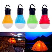 Лампа с крючком для палатки, кемпинг, 3 LED фонарь 2000-03684