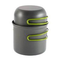 Набор туристической посуды: котелок, чашка в чехле | код: 10.03570
