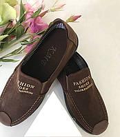 Туфли мужские коричневые, размеры 40 - 45,