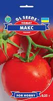 Томат Макс инновационный и перспективный низкорослый ранний сорт сладкий мясистый с кислинкой, упаковка 0,25 г