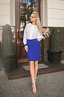 Платье классическое в расцветках  25217, фото 1