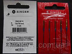 Набор игл для бытовых швейных машин Singer №90 стрейч