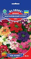 Вербена Королевский Букет популярное с красивыми душистыми соцветиями, упаковка 0,2 г