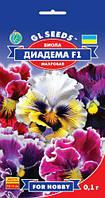 Виола Диадема F1 сорт крупноцветковый махровый экзотической окраски, упаковка 0,1 г