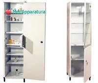 Шкаф медицинский с сейфом для медикаментов ШМ-1-02