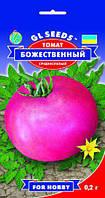 Томат Божественный сорт прелесный крупноплодный среднеспелый десертный сладкий, упаковка 0,2 г