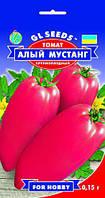 Томат Червоний Мустанг сорт оригінальний великоплідний середньостиглий м'яка ясистий смачний, упаковка 0,15 г