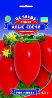 Томат Кармінні Свічки сорт циліндричний високорослий средньоранній дуже смачний, упаковка 0,1 г