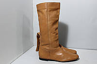 Женские кожаные сапоги Minelli, 38р., фото 1