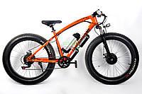 Элеткровелосипед элитного класса Fat-Bike Love Freedom с толстыми колесами горный мощность 250 ВТ