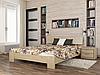 Кровать из натурального дерева Титан