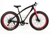 Элеткровелосипед мощность электродвигателя 350 Вт Fat-Bike Love Freedom элитного класса с толстыми колесами Черный