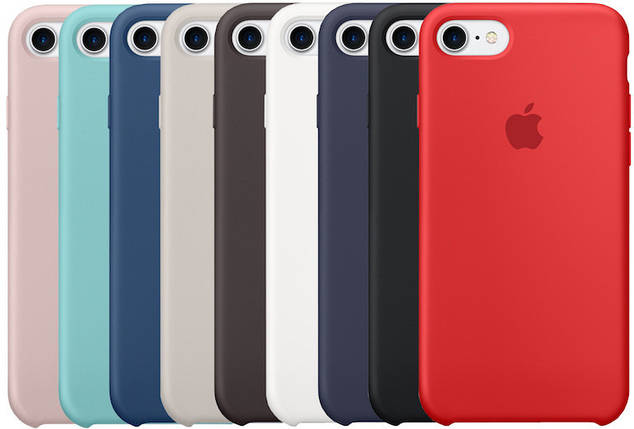Чехол Silicone Case для Apple iPhone 7/8, фото 2