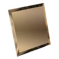 Зеркальная плитка зеленая, бронза, графит 250*300 фацет 10мм, фото 1