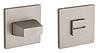 Накладка WC-фиксатор TUPAI 4040 5S Q - матовый никель