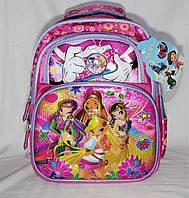 Школьный рюкзак WINX для девочек 1, 2, 3 класс. Портфель ранец ортопедический для школы
