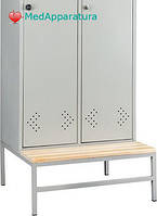 Скамья-подставка Практик LS-01-40 сосна