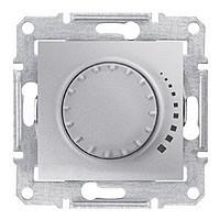 Светорегулятор поворотно-нажимной индуктивный 60-500 Вт алюминий Sedna SDN2200521