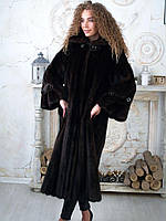 Норковая шуба длинная женская 46 48 размеры
