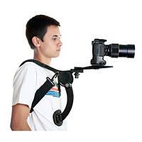 Плечевой упор для камеры Hands Free RIG свободные руки   код: 10.02506