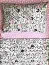 """Детское постельное белье """"Котики с сердечками"""" розовое (100 % хлопок), фото 4"""